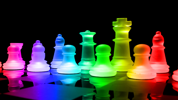 rainbow chess