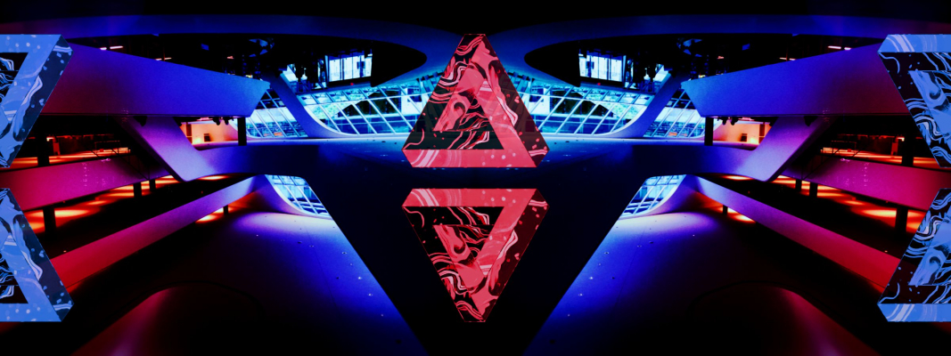 RED VS BLUE impossible triangles