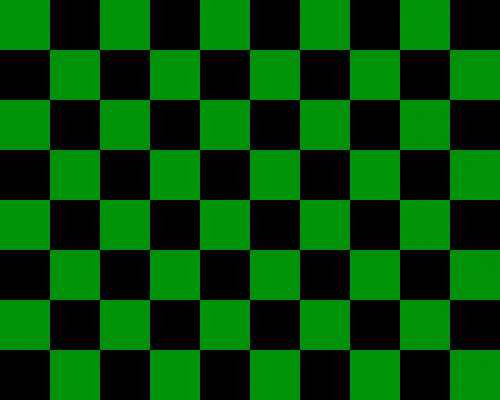 checkered pattern green
