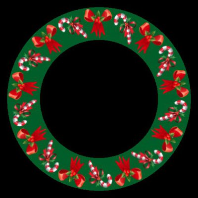 christmas motif round preview