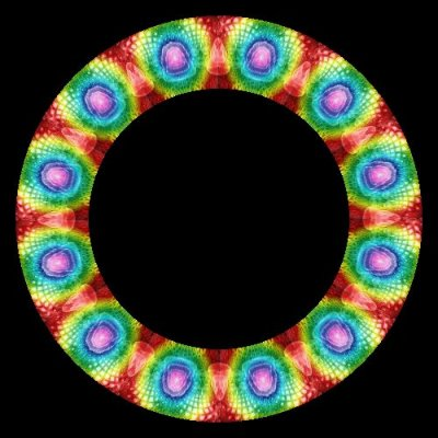 38707 abstract trippy funky colorful   Copy round preview