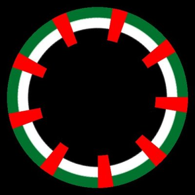 Flag of the United Arab Emirates.svg round preview