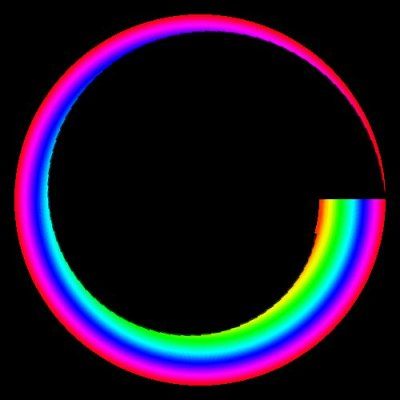 RAINBOW fade out round preview