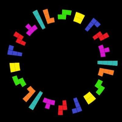 Gespenster Tetris