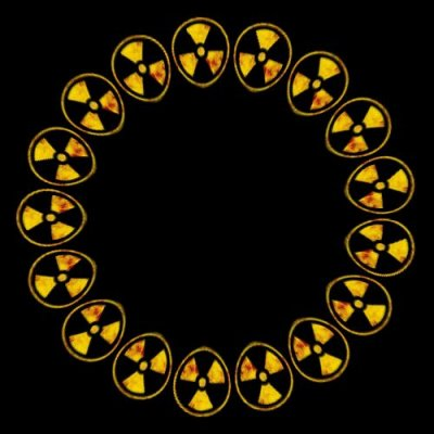 radioactive symbol round preview
