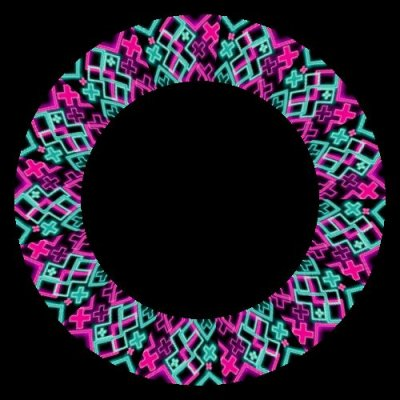 Neon Crosses round preview
