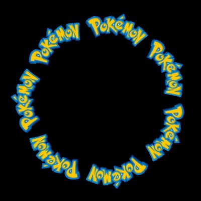 Pokemon Logo round preview