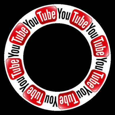 Youtube logo round preview