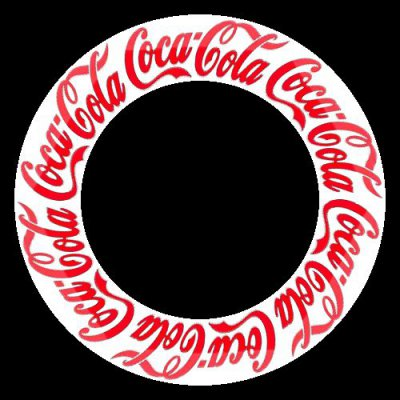 Coca Cola logo round preview