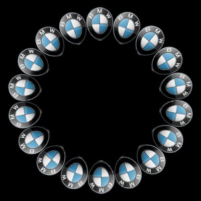 BMW logo round preview