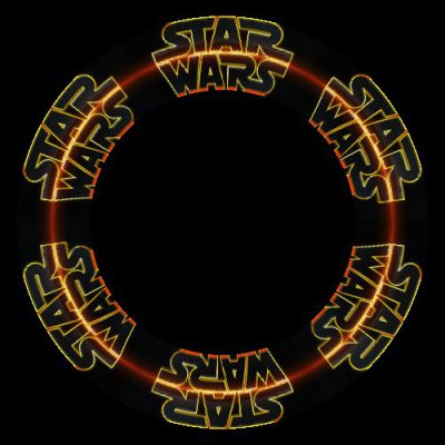 star wars logo round preview