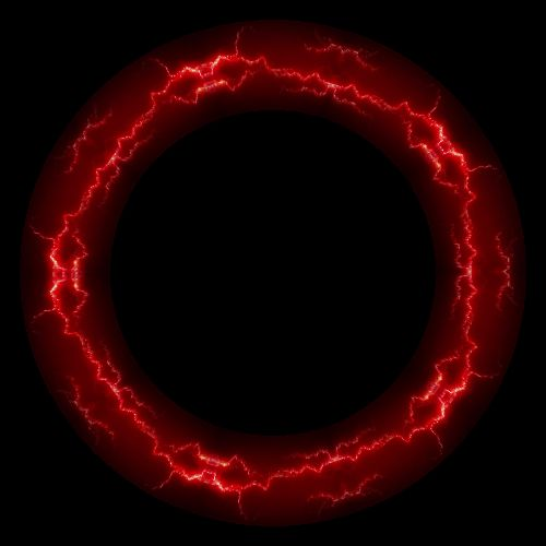 Red Lightning Visual Poi Zone